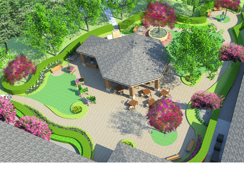 The Garden Of The Five Senses Was Designed With Seniors In Mind And  Includes Gardening And Other Outdoor Activities.